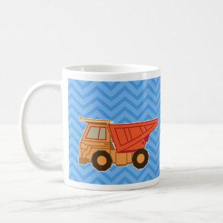 Transportation Heavy Equipment Dump truck Basic White Mug