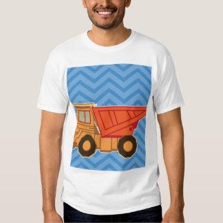 Transportation Heavy Equipment Dump Truck - Blue Tees