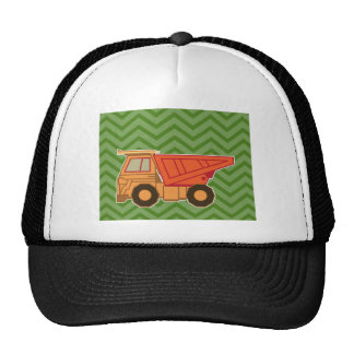 Transportation Heavy Equipment Dump Truck Trucker Hat