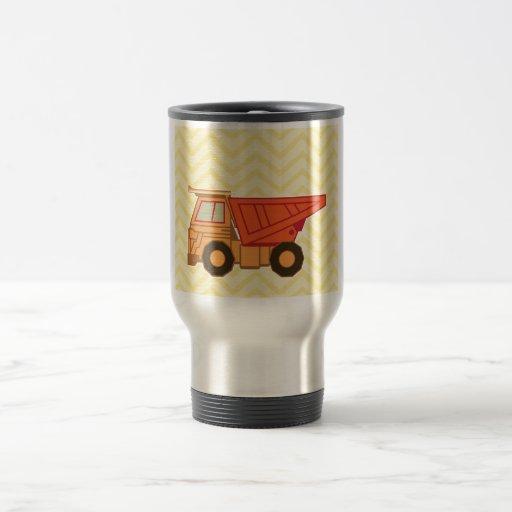 Transportation Heavy Equipment Dump Truck Coffee Mug