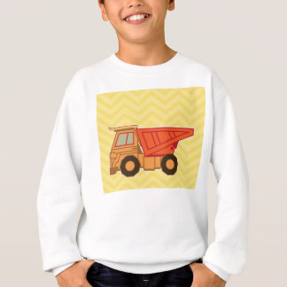 Transportation Heavy Equipment Dump Truck Sweatshirt