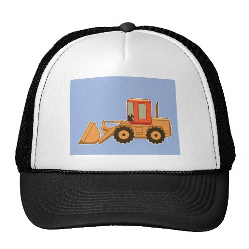 Transportation Heavy Equipment Payloader Mesh Hat