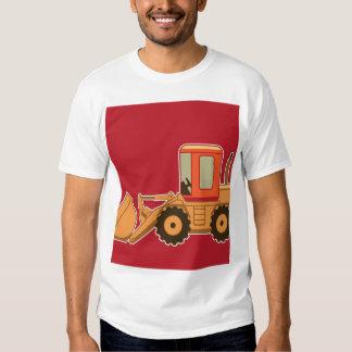 Transportation Heavy Equipment Payloader - Red Shirt