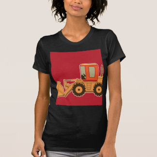Transportation Heavy Equipment Payloader - Red T-Shirt