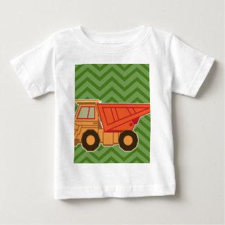 Transportation Heavy Equipment Zigzag Chevron Baby T-Shirt