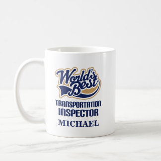 Transportation Inspector Personalized Mug Gift