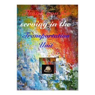 Transportation Invatation Card 13 Cm X 18 Cm Invitation Card