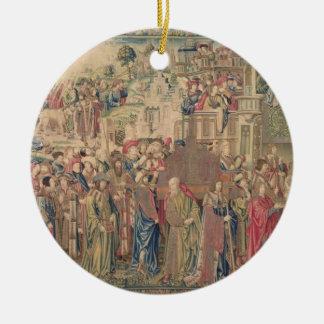 Transportation of the Ark of the Covenant, Tapestr Ceramic Ornament