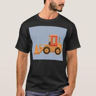 Transportation Orange Payloader - Blue T-Shirt