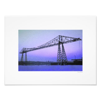 "Transporter Bridge 16""x12"" Photo Art"