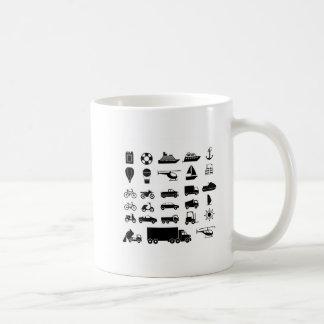 transporting design coffee mug