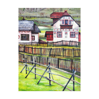Transylvania, Romania Canvas Print