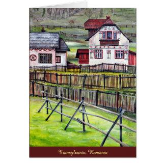 Transylvania, Romania Card