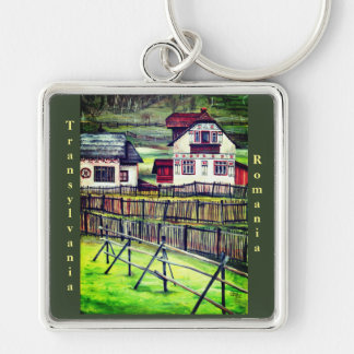 Transylvania, Romania Key Ring