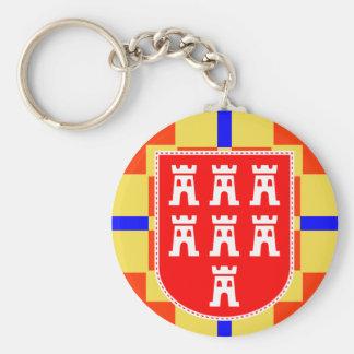 Transylvania Saxonia coat of arms key supporter Key Ring