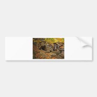 Trap Falls in Autumn Bumper Sticker