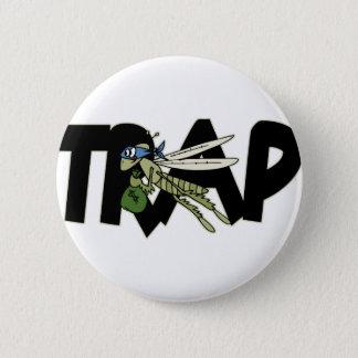 Trap Grasshopper 6 Cm Round Badge