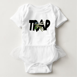Trap Grasshopper Baby Bodysuit