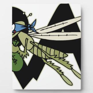 Trap Grasshopper Plaque
