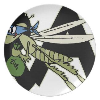 Trap Grasshopper Plate