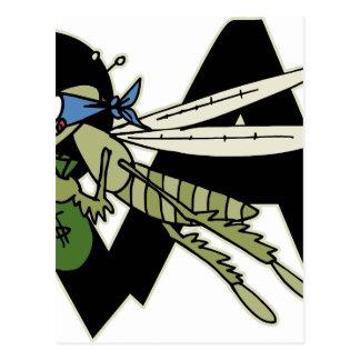 Trap Grasshopper Postcard