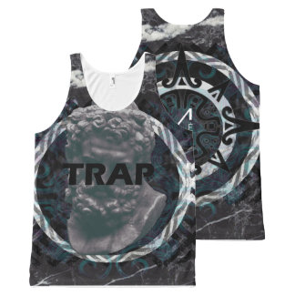 Trap Music All-Over Print Singlet
