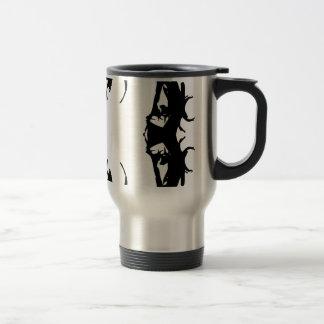 trap rapper travel mug