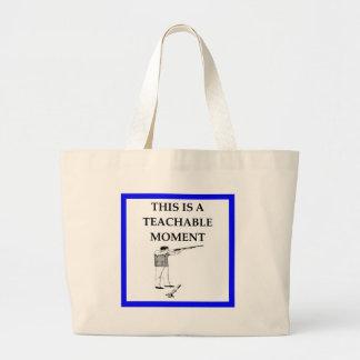 trap shooting large tote bag