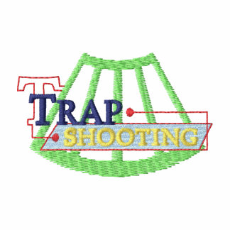 Trap Shooting Logo Embroidered Hoody