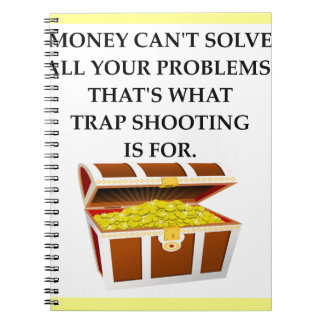 trap shooting notebooks