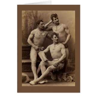 Trapeze Gents Card