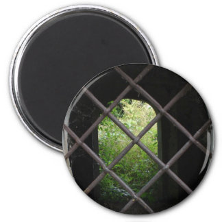 Trapped Garden Refrigerator Magnet
