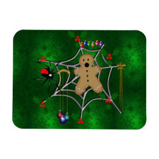 Trapped Gingerbread Rectangular Magnets