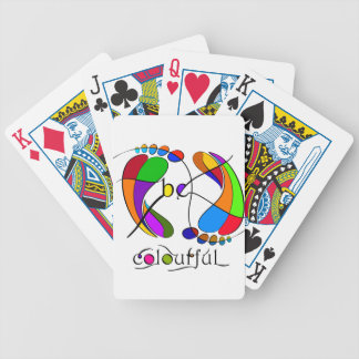 Trapsanella - be colourful bicycle playing cards