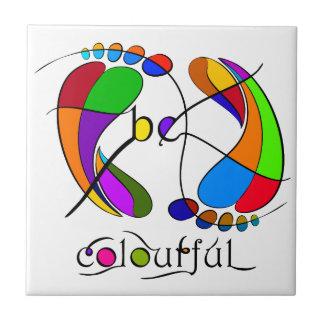 Trapsanella - be colourful ceramic tile