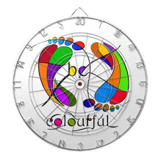 Trapsanella - be colourful dartboard