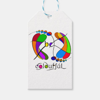 Trapsanella - be colourful gift tags