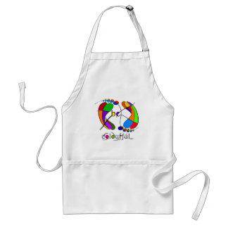 Trapsanella - be colourful standard apron
