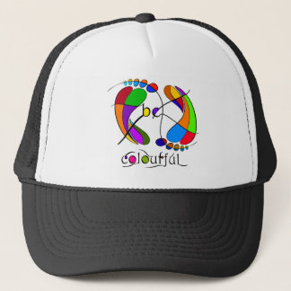 Trapsanella - be colourful trucker hat
