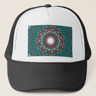 trash atom trucker hat