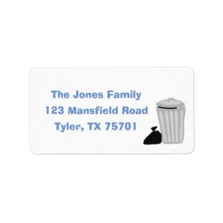 Trash Bash Return Address Labels
