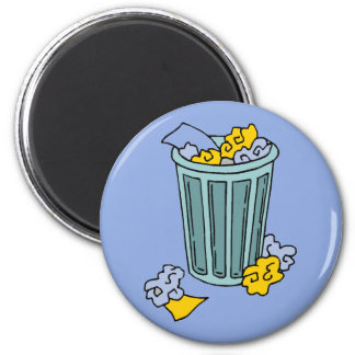 Trash Can  Icon Magnet
