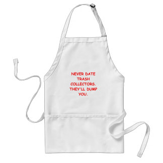 trash collector adult apron