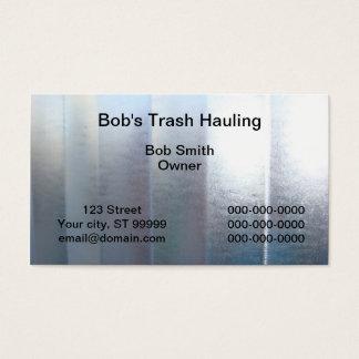 Trash Hauling Business Card