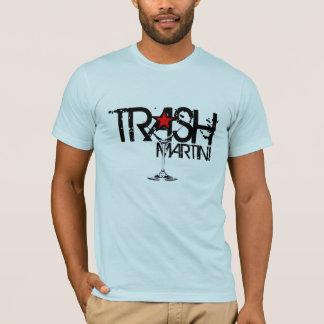 TRASH Martini Black Logo T-Shirt