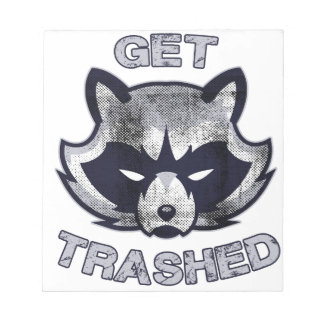 Trash Panda Party People Notepad