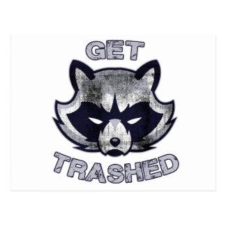 Trash Panda Party People Postcard