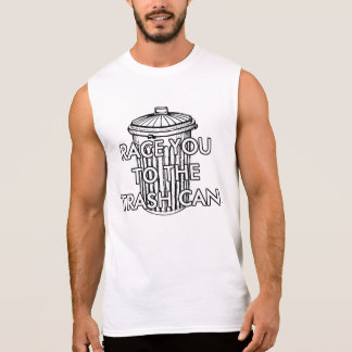 trash race sleeveless shirt