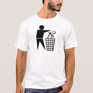 Trash_Religion_b-on-w_no-site T-Shirt