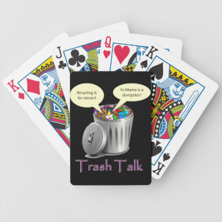 Trash Talk Bicycle Playing Cards